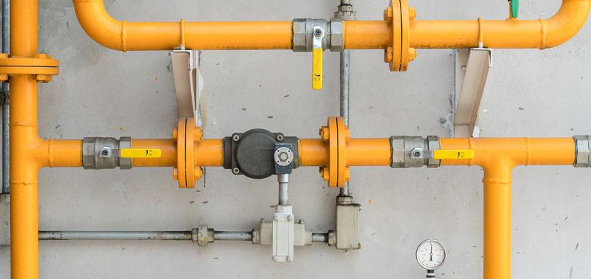 Gas-Line-Installation
